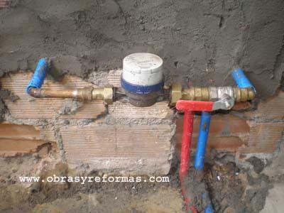 Contador del agua portal construccin obras y reformas - Contador de agua ...