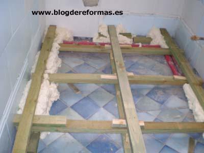 Rastreles de madera para tarima